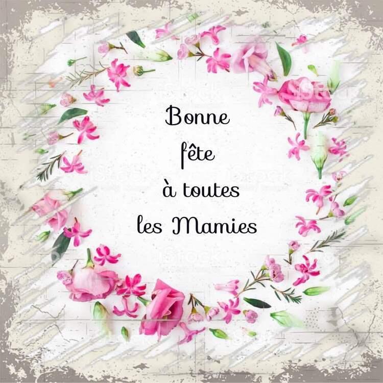 Bonne fête à toutes les Mamies