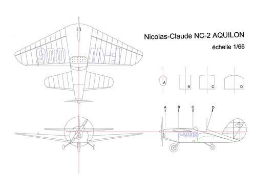 NICOLAS CLAUDE NC-2 AQUILON au 1/66