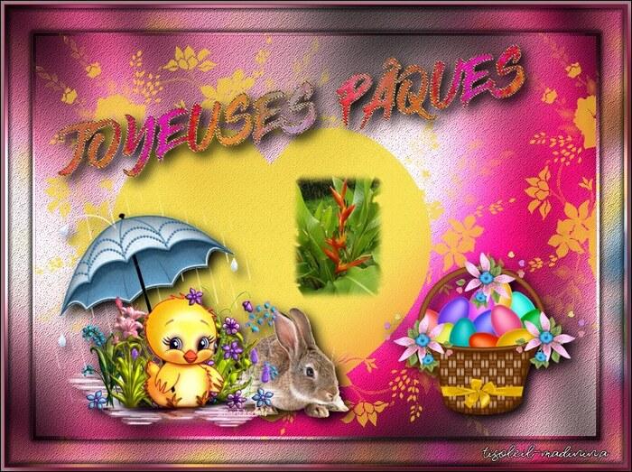 Joyeuses fête de Pâques