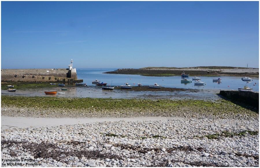 Ile de Molène le port