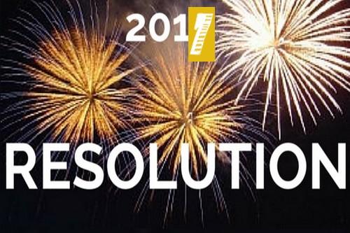 Les résolutions d'une bonne année