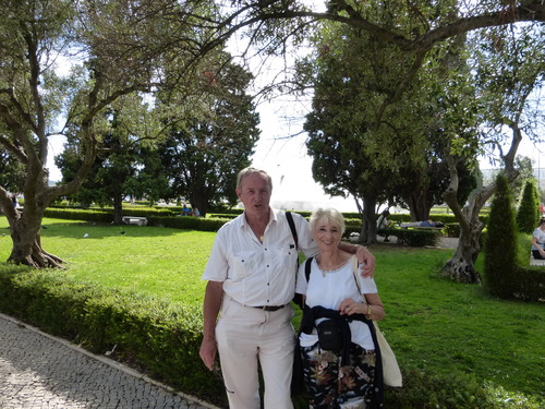 Jacqueline au Portugal sept 2014