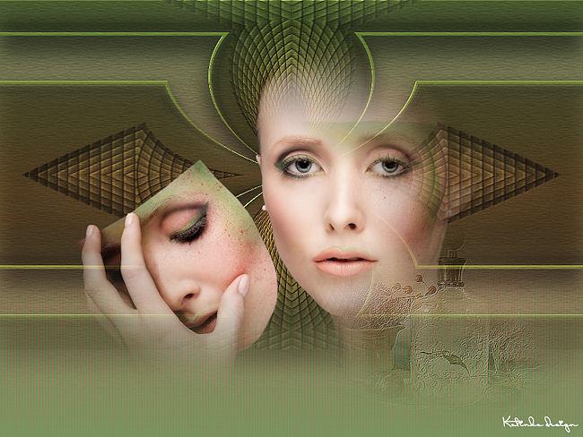 Luz Cristina tutoriálok alapján készült képeim