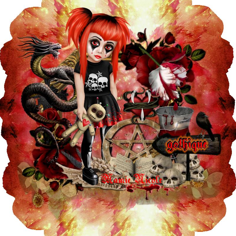 ♥♥♥ Bonjour , Halloween passe par là .... ♥♥♥