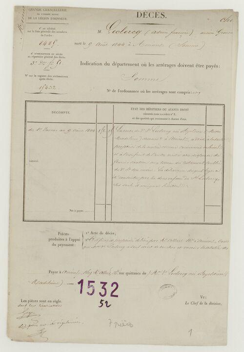 LECLERCQ  Adrien-François