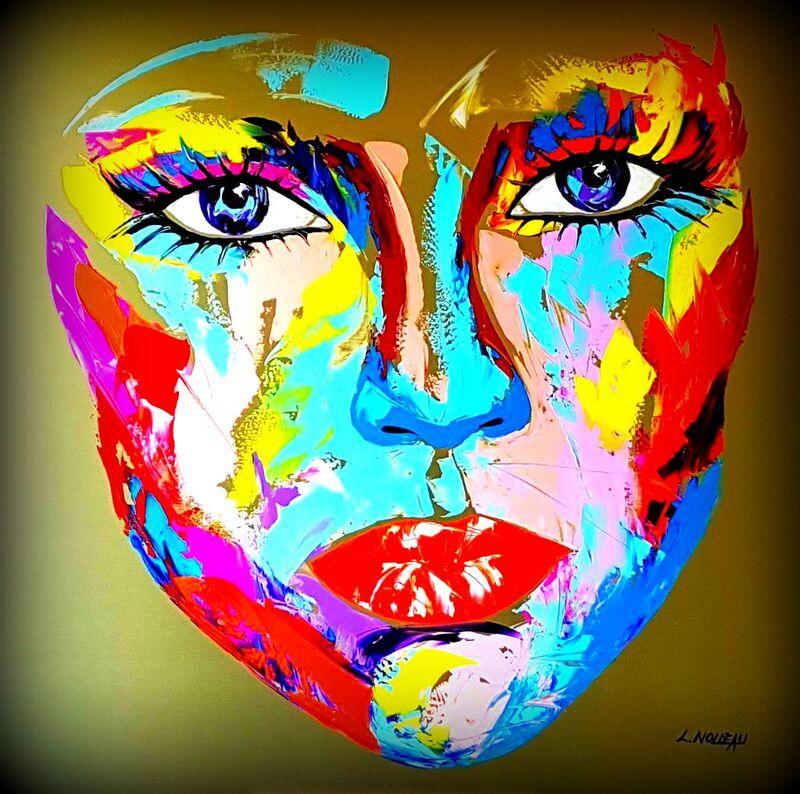 Portraits de Femmes - Art Abstrait