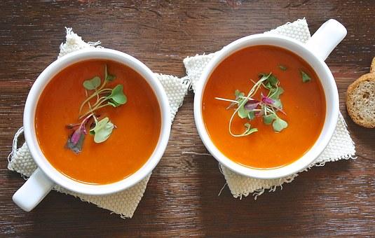 Soup, Tomato, Healthy, Homemade