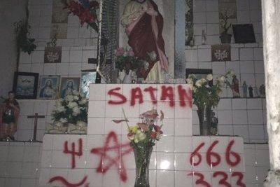 Un troisième lieu de culte, l\'oratoire Notre-Dame de Lourdes, vandalisé