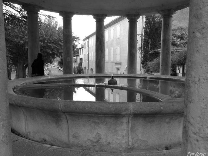 Le lavoir de Grignan