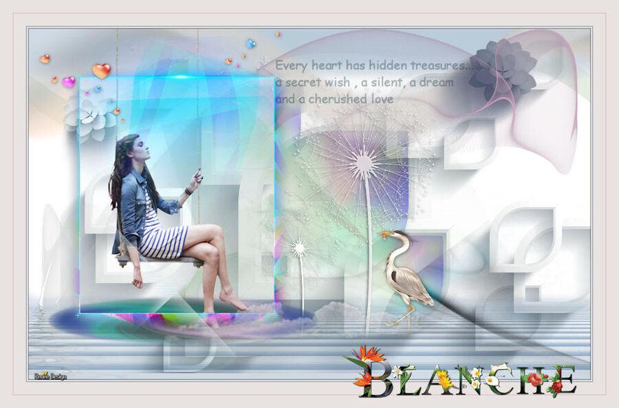 - Blanche -