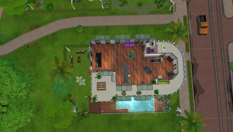 Sims 4 : Aménagement de l'immeuble Bois du Parc part 2.
