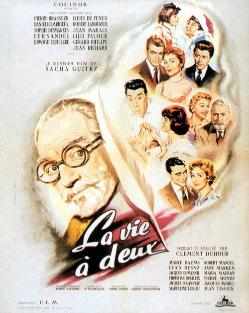LA VIE A DEUX - BOX OFFICE JEAN MARAIS 1958