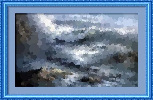 Dessin et peinture - vidéo 2239 : Peindre des vagues dans un océan déchainé - peinture à l'huile.