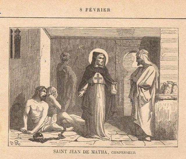 Saint Jean de Matha, prêtre (1160-1213)