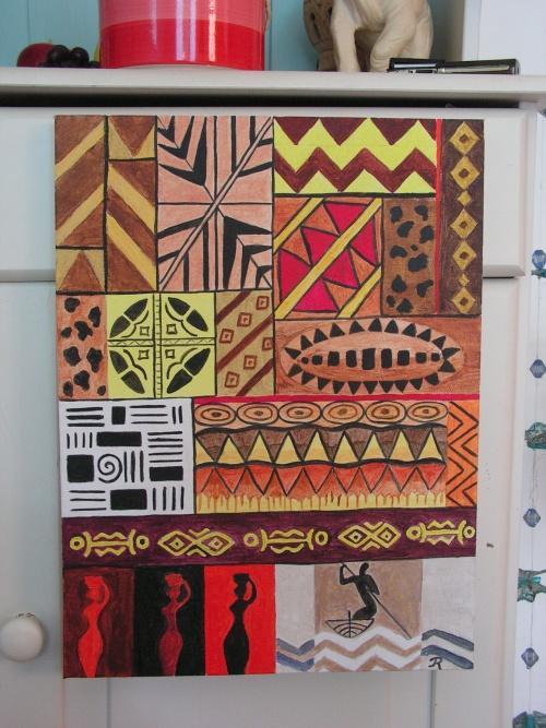 motifs d'afrique