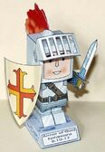 The Armor of God: You can download here a free PDF of the model in A4 or Letter format either in color or black and white (if you prefer to color it).: