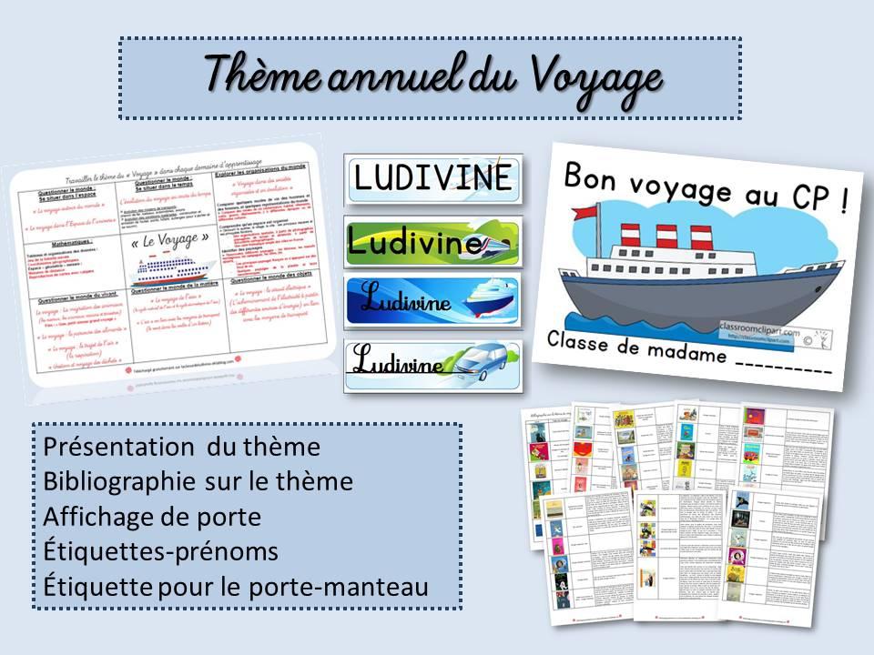 Berühmt Le voyage - La classe de Ludivine FP21