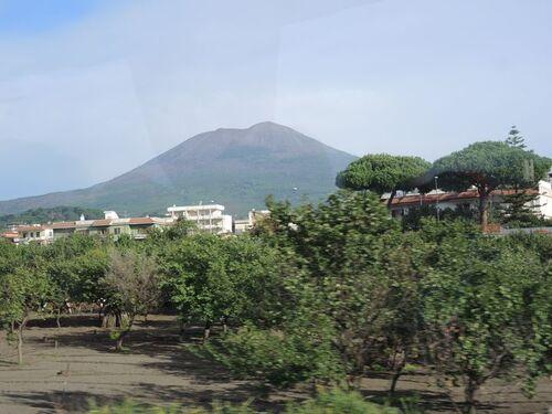 De retour d'Italie