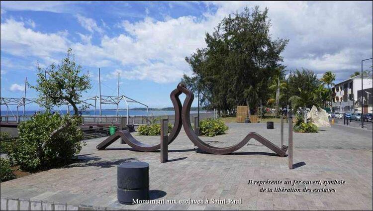 Monument aux esclaves à Saint Paul