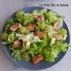Salade au poulet et raisin