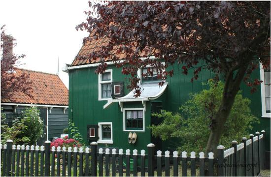 Pays-Bas / Le joli village de Zaanse Schans