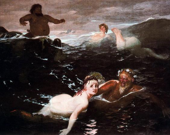 Une divinité des eaux