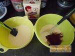 Gâteau marbré au chocolat & noix de coco