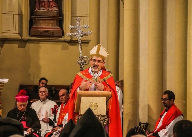 Le Patriarche Pierbattista Pizzaballa adresse ses vœux au diocèse de Jérusalem