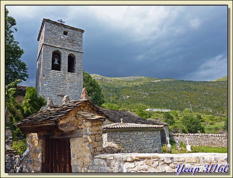 Eglise San Andrés (XIII ème siècle) - Nerìn - Aragòn - Espagne (España)