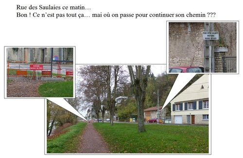 Rue des Saulaies