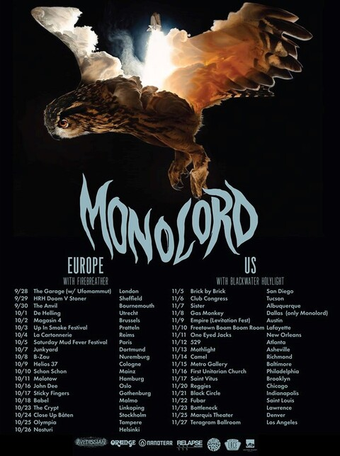 MONOLORD + FIREBREATHER - Reims - 04/10/2019