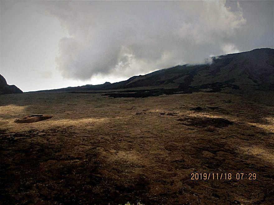 14/9/20 : Volcan du Piton de la Fournaise -