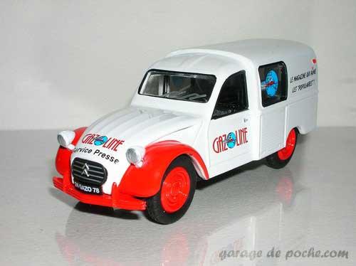 Citroën 2cv fourgonnette Gazoline