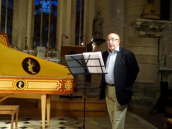 Un très beau concert proposé par la Semaine de Saint Vorles dans l'église de Laignes...