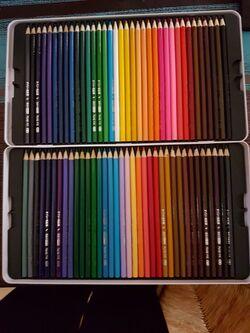 Super lot de crayons de couleurs
