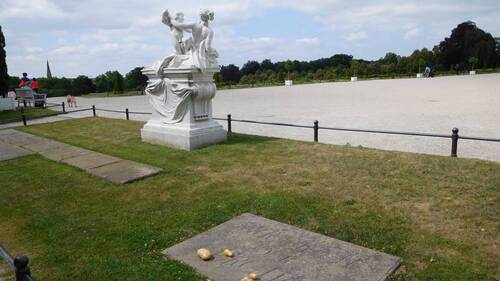 La tombe de Frédéric II de Prusse