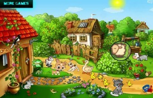 Sweet farm - Hidden objects