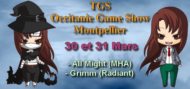 Information : TGS Occitanie Game Show 2019