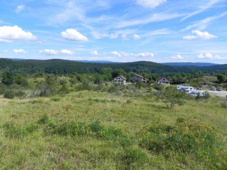 Le pic de l'Aigle près de Chaux du Dombief
