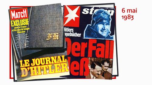 Histoire:  Le journal d'Hitler