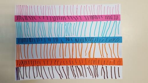 Graphisme : les lignes verticales suite
