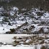 L'étangs de Lers gelé...(2)