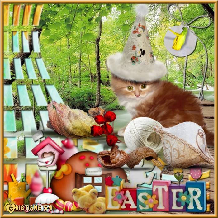 Défi cadre Pâques pour Cerise déco !