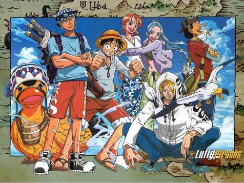 luffy et son équipage