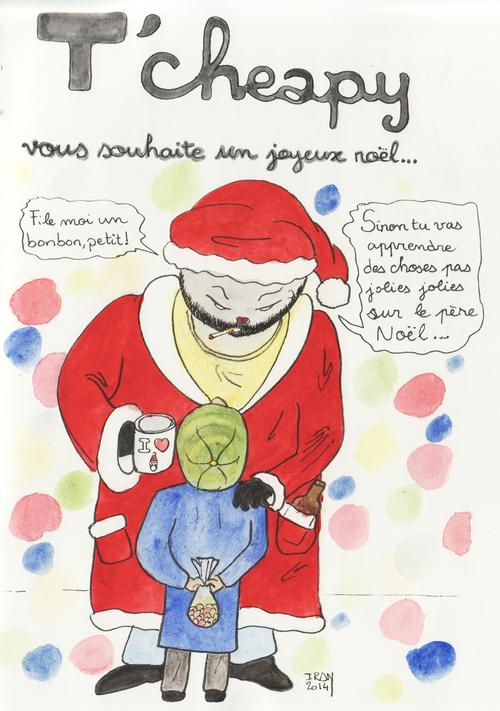 T'cheapy vous souhaite un joyeux Noël