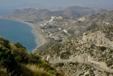 De Carboneras à Mojacar - ruta Trancabrera