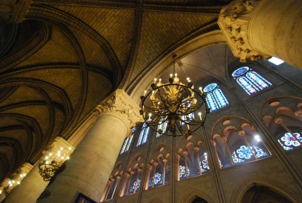 Cathédrale de Paris, l'intérieur