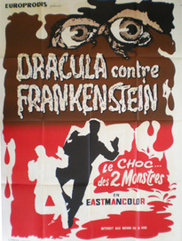 DRACULA CONTRE FRANKENSTEIN BOX OFFICE FRANCE 1971