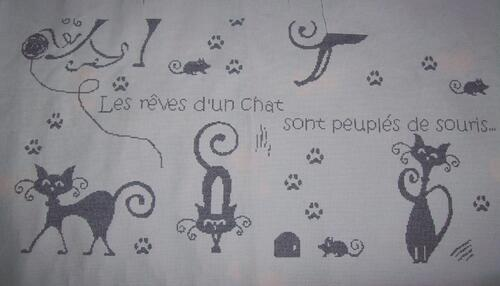 "SAL ""Les rêves de chats"" - 6 & 7"