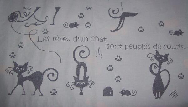 "SAL ""Les rêves de chats"" - 5"